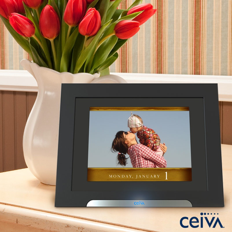 ceiva digital picture frames great gift ideas styled by amystyled by amy. Black Bedroom Furniture Sets. Home Design Ideas